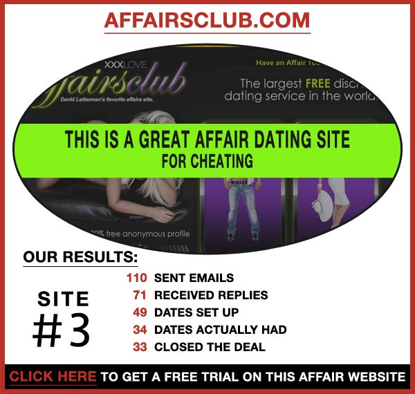 Statistics about AffairsClub