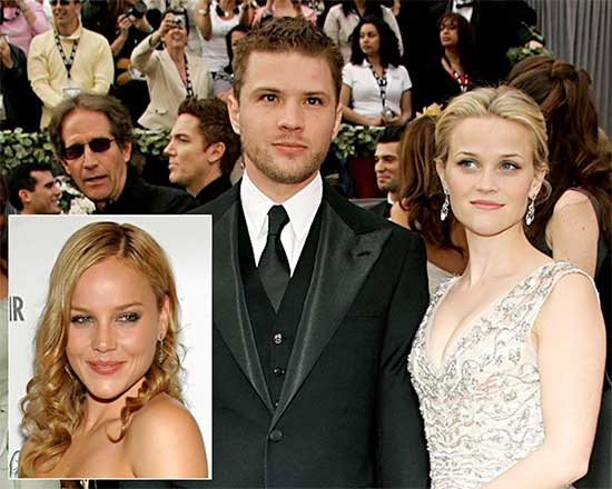 Ryan Phillippe cheating on Reese Witherspoon