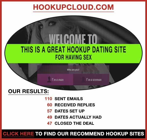 Screenshot of HookupCloud