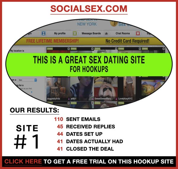 Statistics about SocialSex