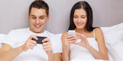technology helps relationships